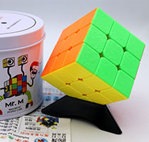 روبیک 3×3×3 شنگ شو مستر ام قوطی فلزی Shengshou Mr.M