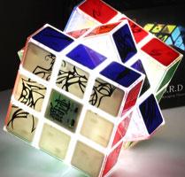 روبیک 3×3×3 ال ای دی یوکسین YuXin LED