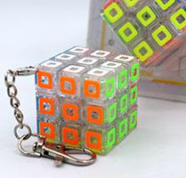 جاکلیدی روبیک3×3 جیهویی طرح مربع JIEHUI Square keyholder