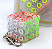 جاکلیدی روبیک 3×3 جیهویی طرح دایره JIEHUI Circle keyholder