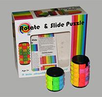 بازی روبیکی استوانه دوقلو Rotate and Slide Puzzle