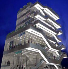 نصب اولین پله برقی outdoor در ایران