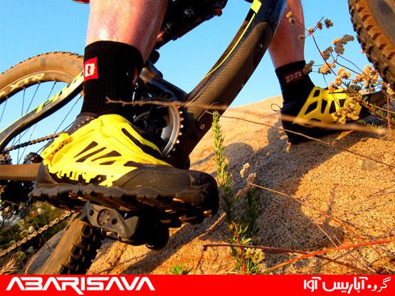 انواع کفش دوچرخه سواری