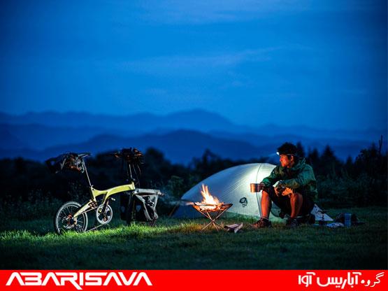 تجهیز دوچرخه و کمپینگ با دوچرخه