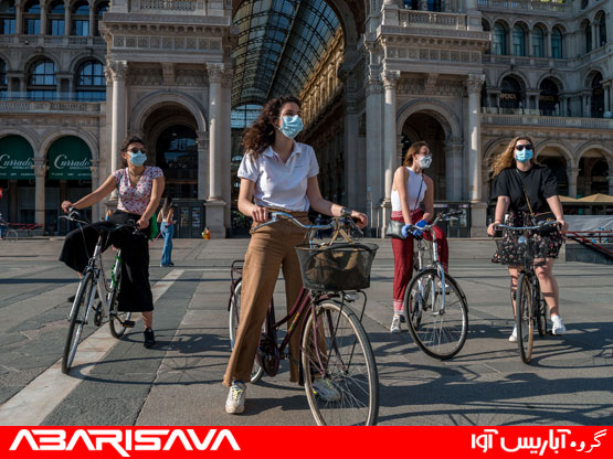 دوچرخه سواری در دوران قرنطینه
