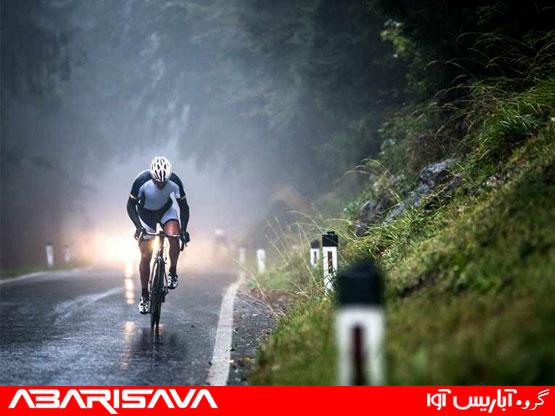 اهمیت گلگیر دوچرخه در هوای بارانی