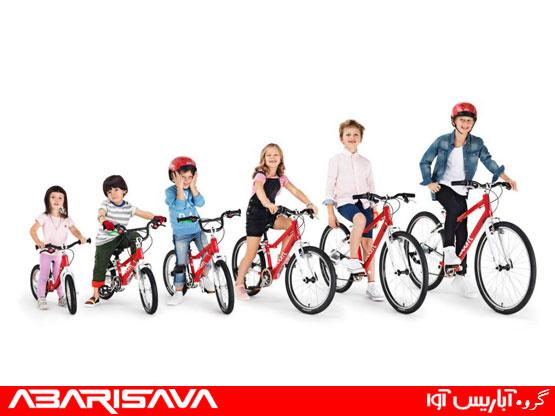 انتخاب سایز مناسب برای دوچرخه کودک