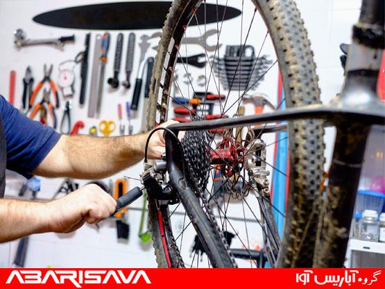 لوازم مورد نیاز تعمیر دوچرخه