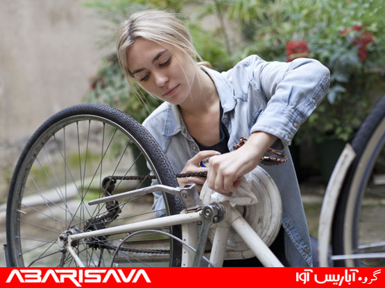 تعویض قطعات دوچرخه