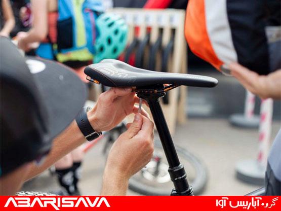 برای دوچرخه سواری زین باریک مناسب تر است یا زین پهن؟