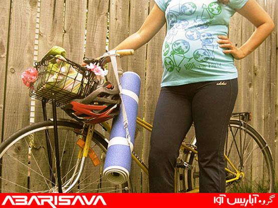دوچرخه سواری امن در طول دوران بارداری