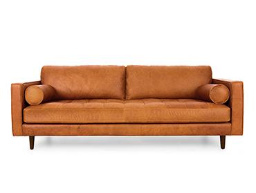 کاناپههای طرح ساده تمام چرم