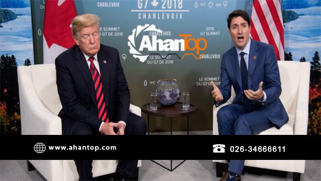 آمریکا در تجارت فلز، خط محدودیت دور کانادا کشید