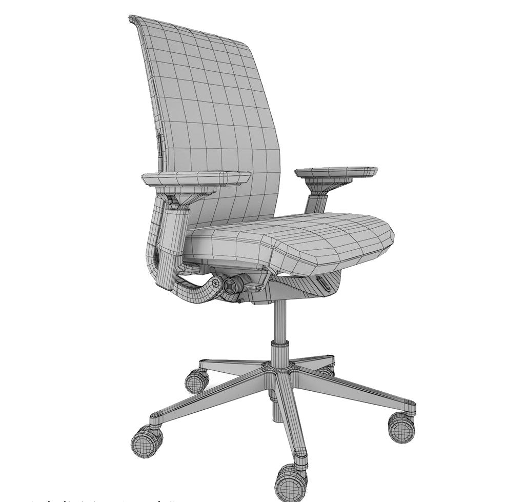 طراحی و مهندسی معکوس صندلی و مبلمان اداری