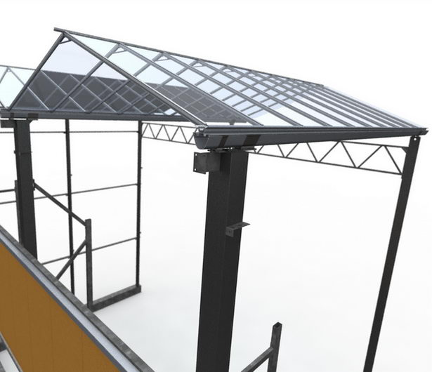 Greenhouse structure design and modeling