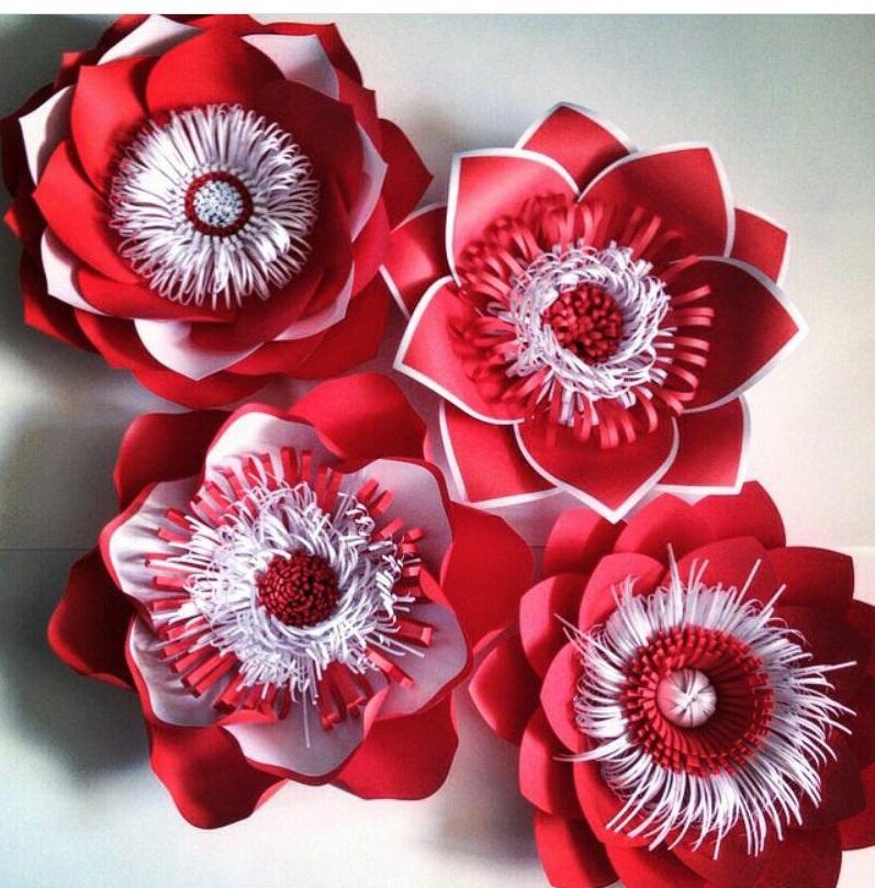 دیزاین مجالس شما با گل های کاغذی