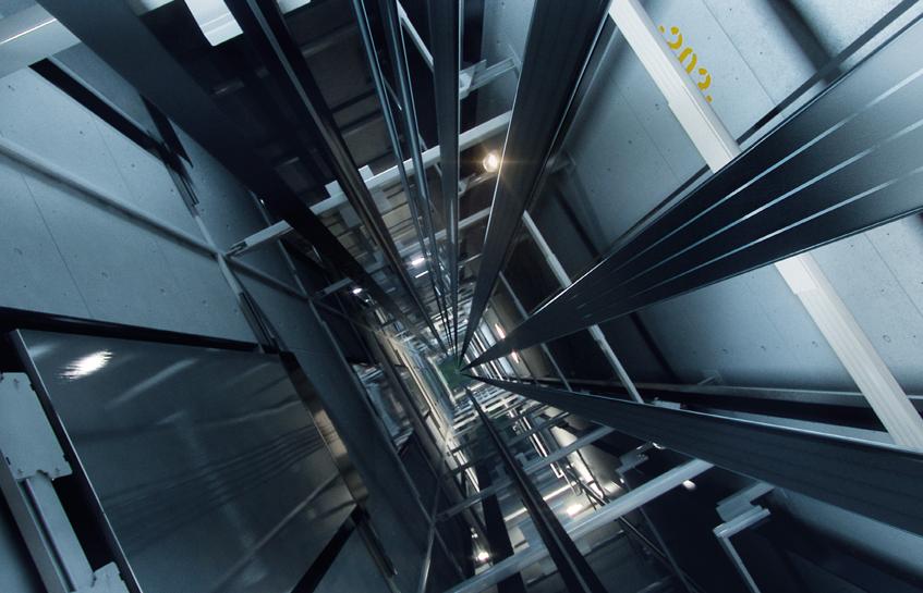 آماده سازی چاهک آسانسور