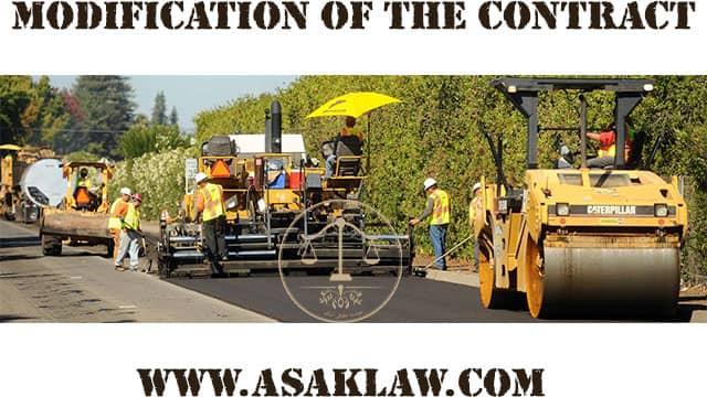 تعدیل قرارداد پیمانکاری | تعریف، شرایط و انواع تعدیل از منظر قانون