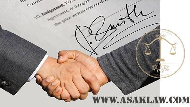 تعهدات در قرارداد پیمانکاری