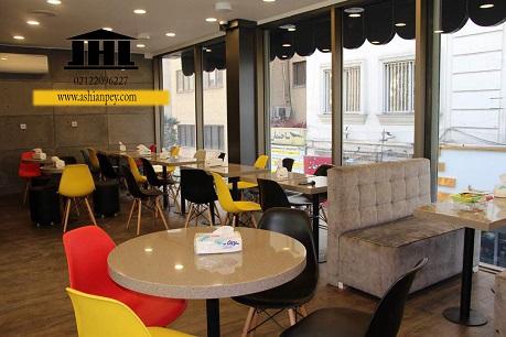 پروژه ی کافه رستوران گاندی