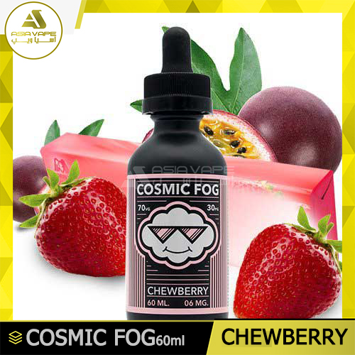 ایجوس طعم آبنبات توتفرنگی، پشن فروت Cosmic Fog-Chewberry