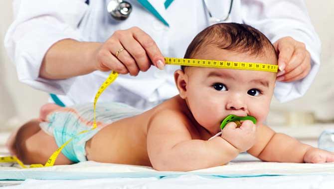 اندازه دور سر کودک دارای اتیسم(اوتیسم)