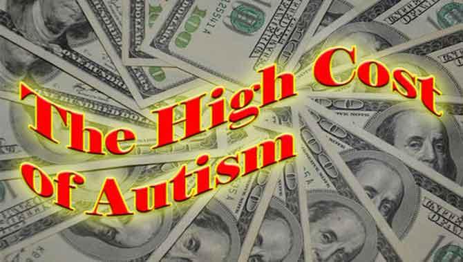 هزینه های درمانی اتیسم(اوتیسم)در امریکا