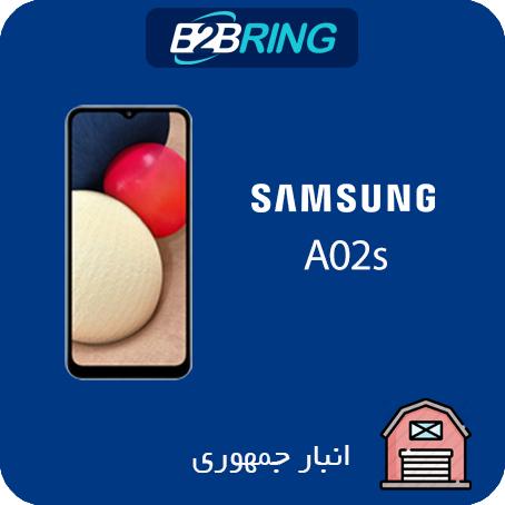 گوشي سامسونگ مدل A02S ظرفیت 64 رم 4 گیگابایت حداقل خرید2 عدد (یک مشکی یک رنگی)