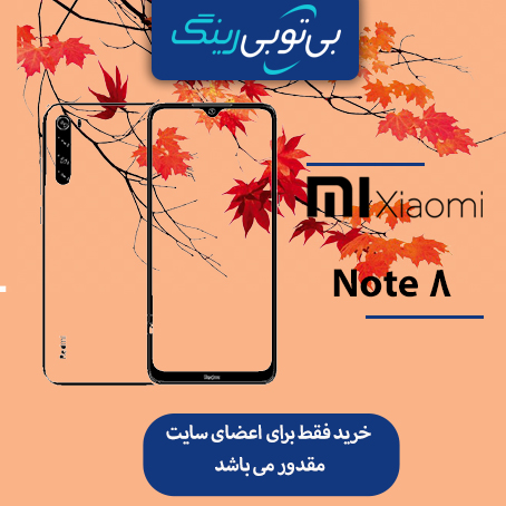 گوشی شیائومی مدل Note 8 128G