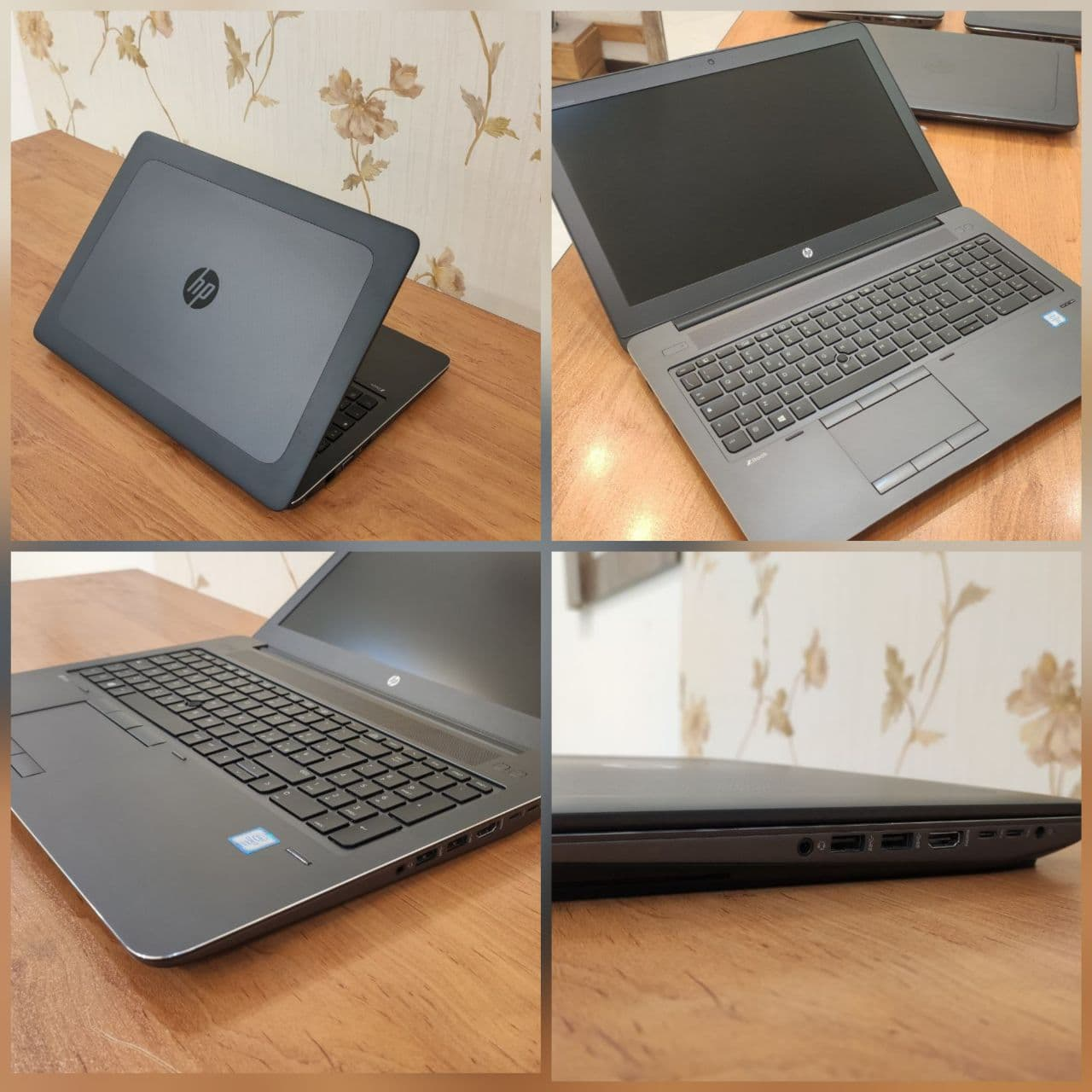 HP ZBOOK 15 G3 - i7_6th/2G/15