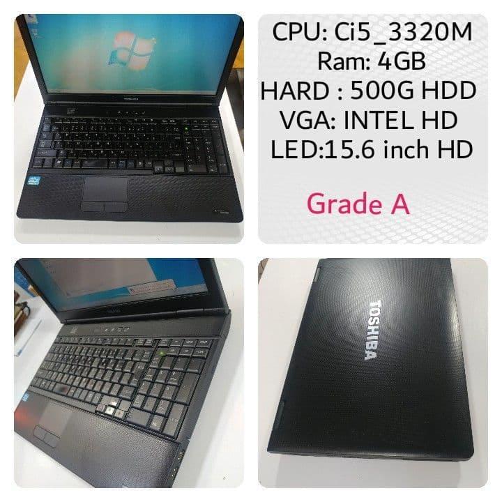 لپ تاپ استوک Toshiba B552