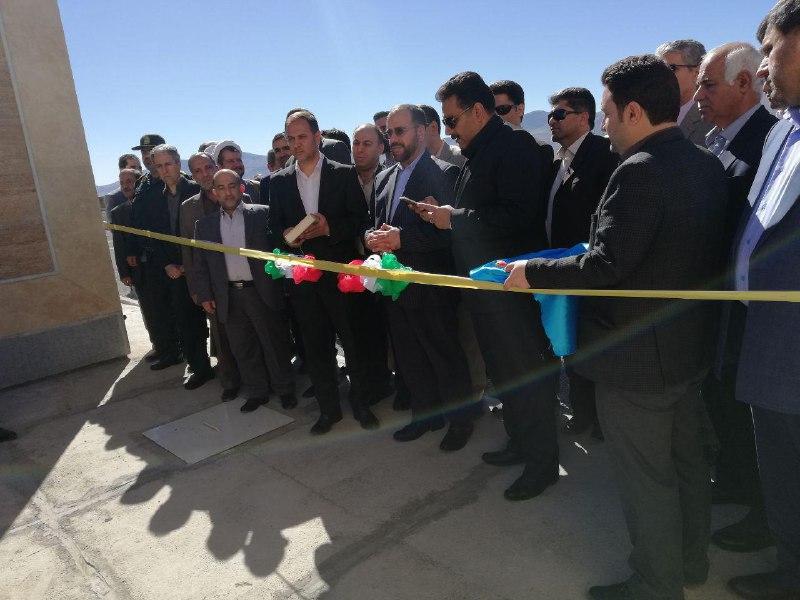 افتتاح تصفیه خانه اضطراری شهر هرسین