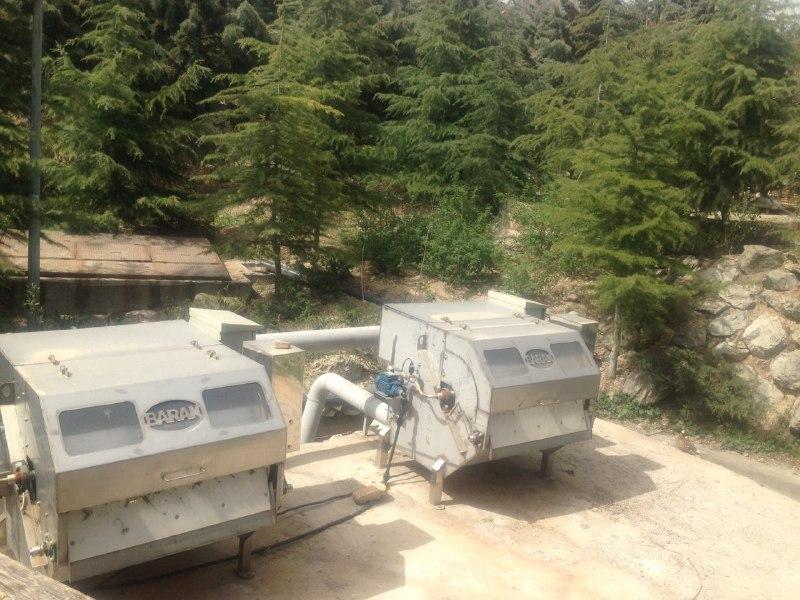 دستگاه روتاری درام اسکرین در باغ پرندگان تهران