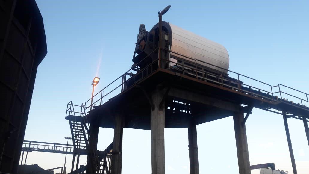 پروژه 60 تنی سنگ آهن دستکاه RVDF 3545