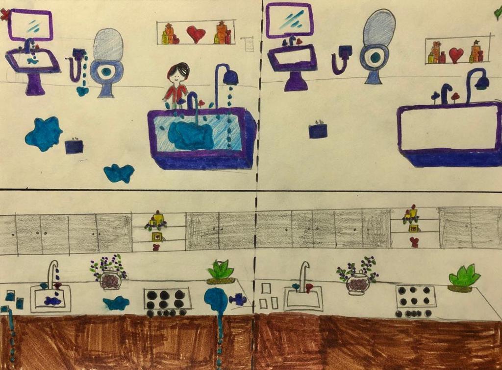 آثار هنری فرزندان باران