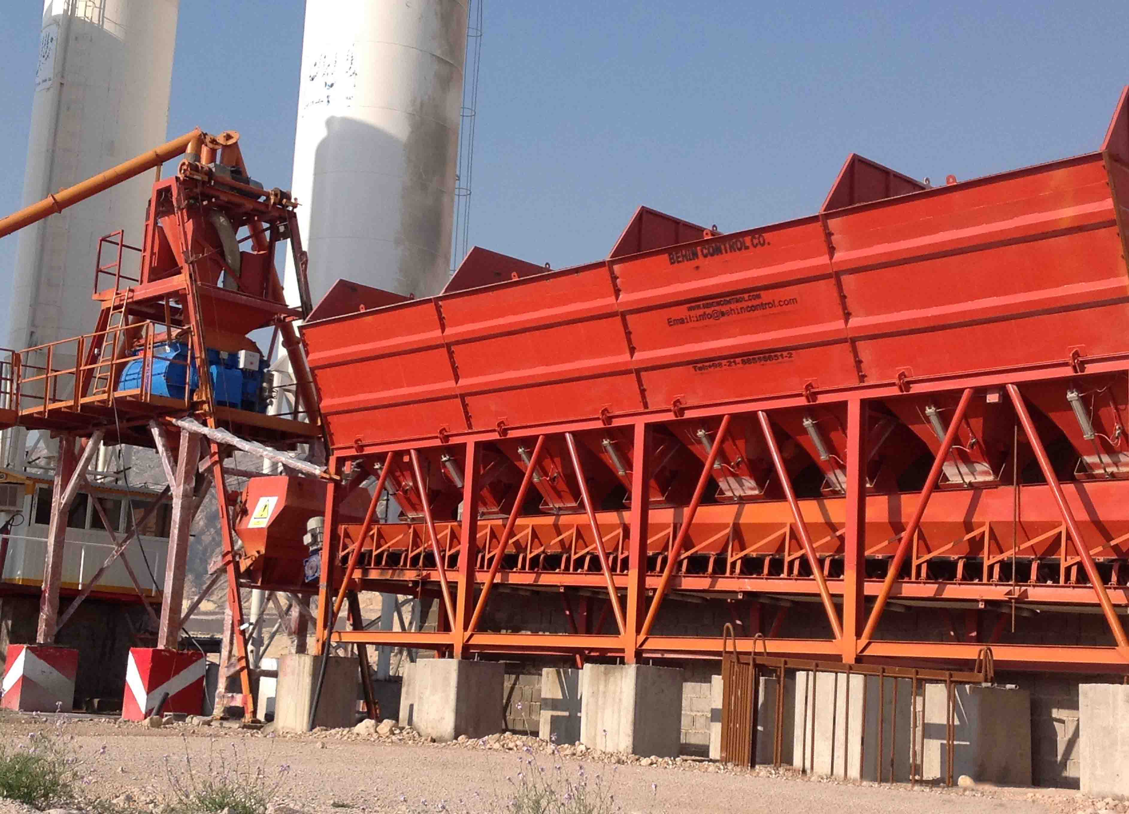 60m3/h Batching Plant With BHS Mixer