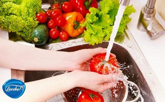 شستشویی صحیح سبزیجات