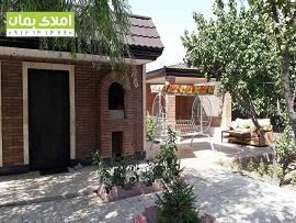 1000 متر باغ ویلای خوش ساخت با بنای 70 متری استخردار در ملارد