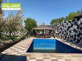 1100 متر باغ ویلا در منطقه کردامیر شهریار