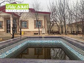باغ ویلا خوش ساخت و سرسبز در یبارک