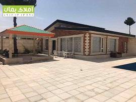 1300 متر باغ ویلا با 110 متر بنای خوش ساخت و زیبا در مهرچین ملارد
