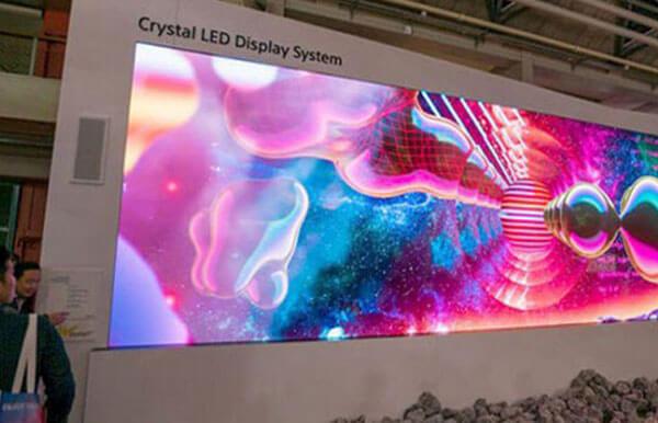 نمایشگر سینمایی سونی کریستال یک تلویزیون 756 اینچی