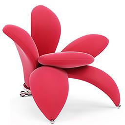 صندلی های راحتی تزیینی Automnco ست سه تایی مدل Wave