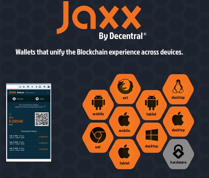 Introducing multipurpose wallet Jaxx