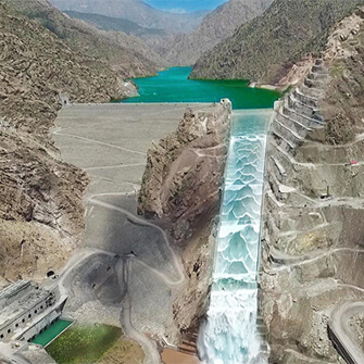 Daryan Dam was opened with the presence of the Minister of Energy and the official announcement of the president.