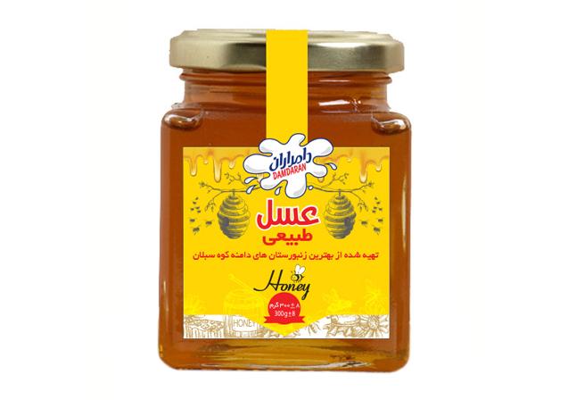 عسل شیشه ای 300 گرم