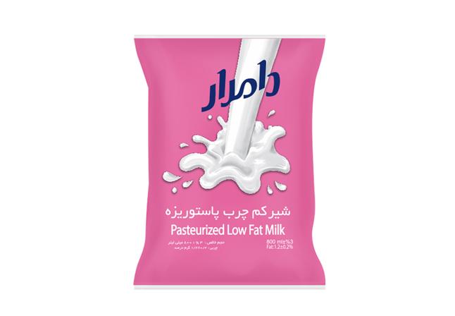 شیر کیسه ای کم چرب 800 گرمی