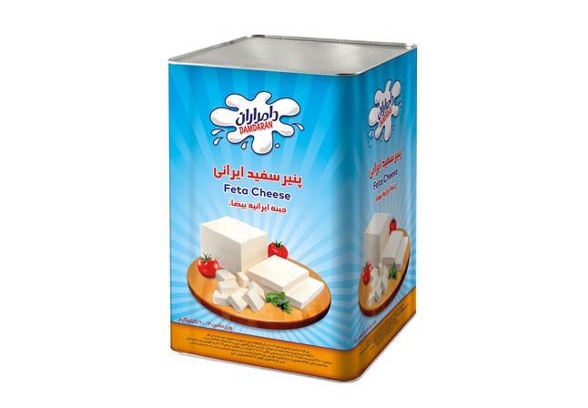 پنیر سفید ایرانی حلب 14 kg