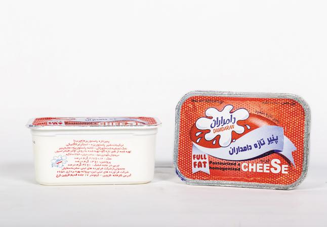 پنیر پاستوریزه چرب400گرمی