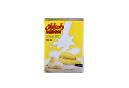 UHT Semi Fat Banana Milk 200 cc